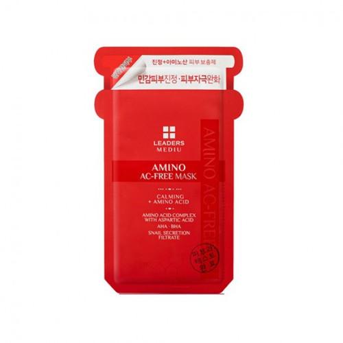 Leaders Mediu Amino AC-Free Mask 10 Sheets New In Box