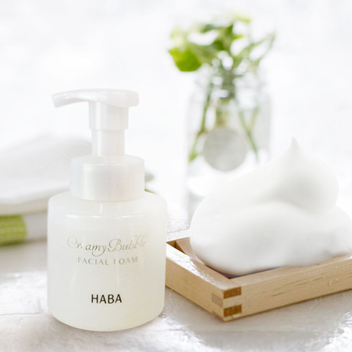 HABA Creamy Bubble Facial Foam