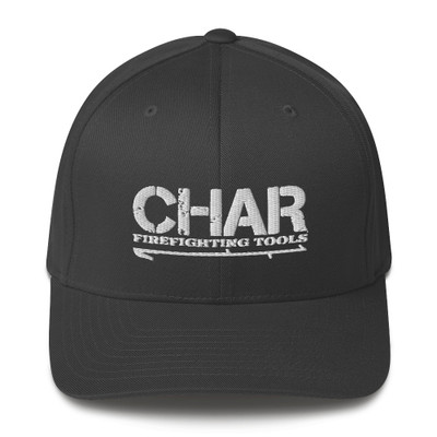 Fitted CHAR Logo Hat