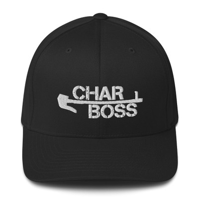 Fitted BOSS Logo Hat