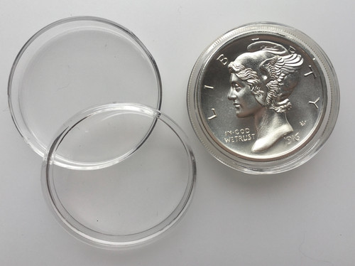 39MM  Coin Capsules fit for 2oz  High Relief intaglio mint Round  coin