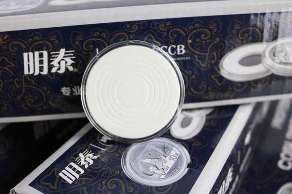 High Quality Acrylic Coin Capsules  38mm For US Large Dollar