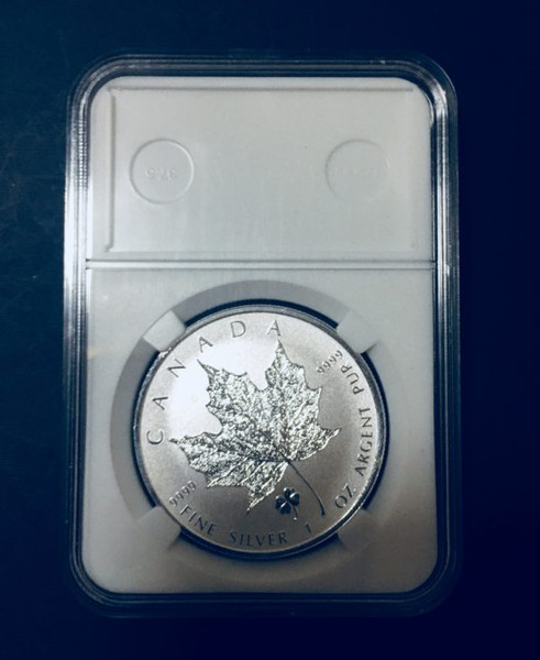 38MM Holder for Canada Maple silver coin