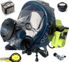 Ocean Reef Neptune Space G.divers GSM Full Face Diving Mask Package Promo