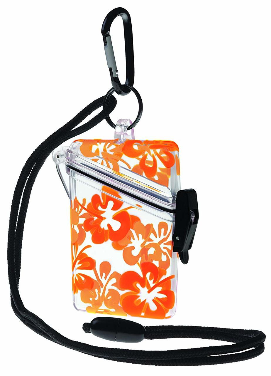 Witz Dry Box Case See It Safe - Clear - Flower
