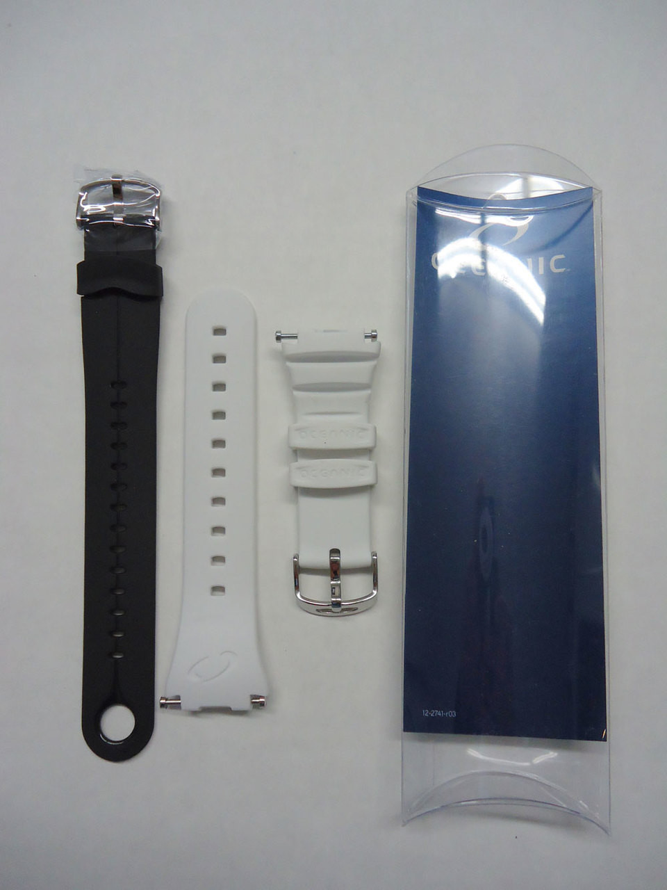 Oceanic GEO/Atom Dive Computer Replacement Band Strap Scuba White