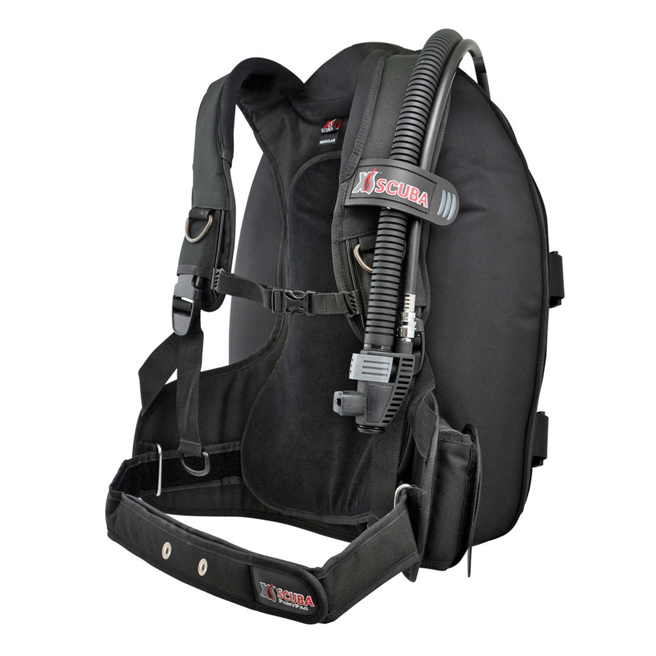 XS Scuba Companion BC Back Inflate Travel BCD