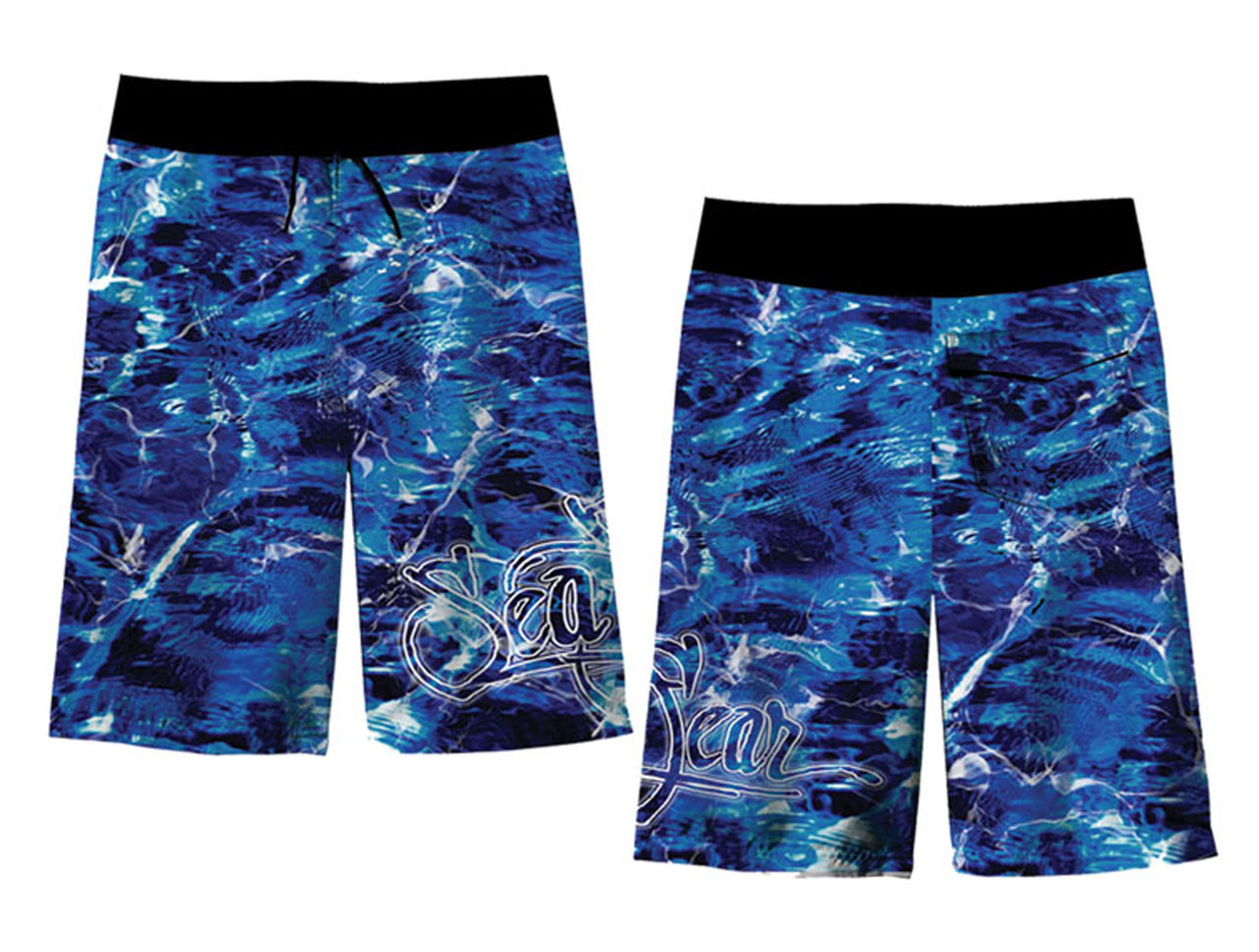 Sea Fear Men's Swimwear Boardshorts Water Camo