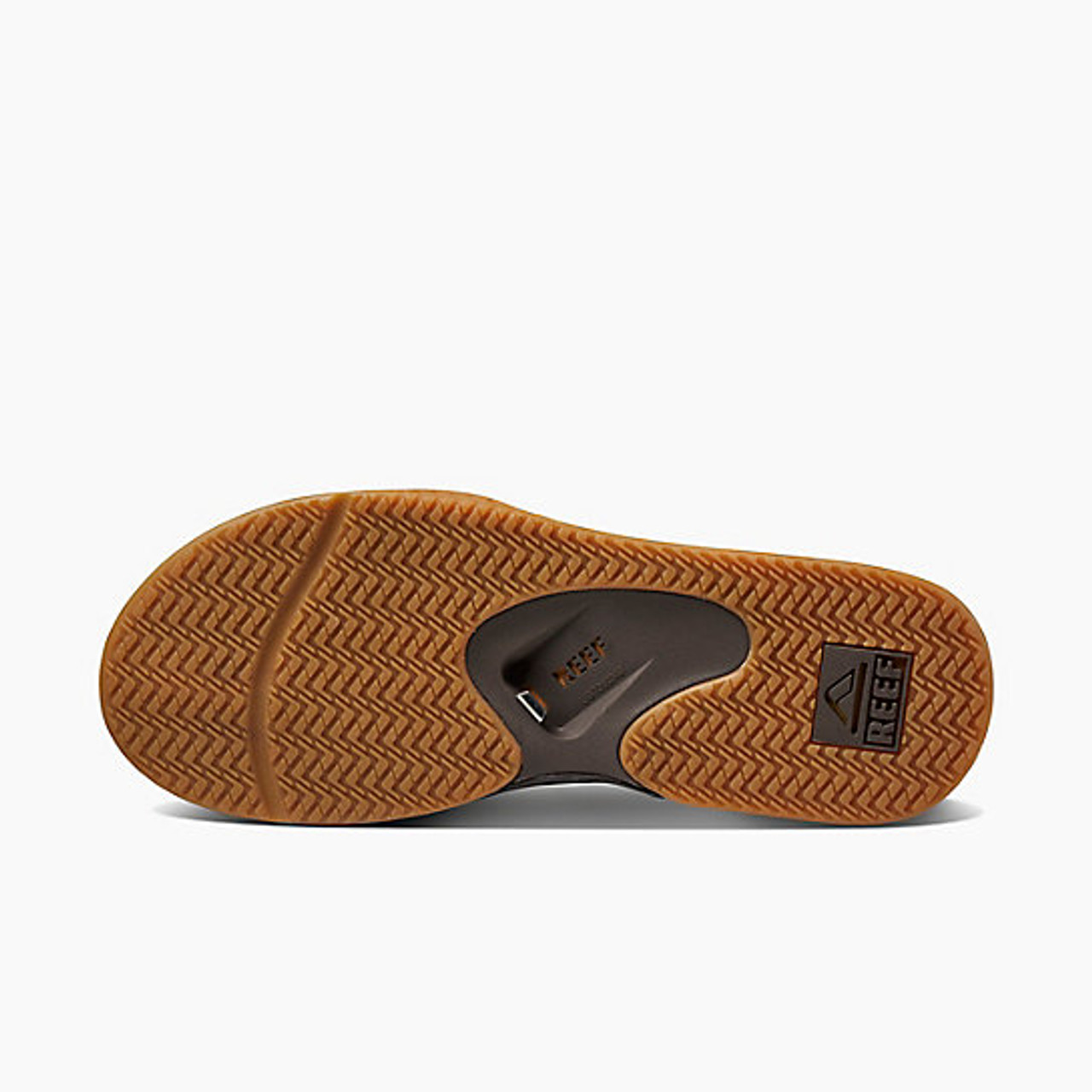 Reef Sandals Fanning Flip Flops Men's Brown Gum RF002026 BGM
