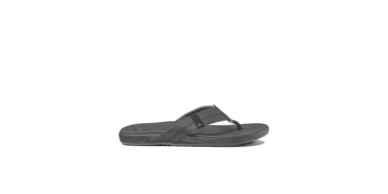 Reef Sandals - Men's Flip Flops - Cushion Bounce Phantom Black - RF0A3FDI - BLA