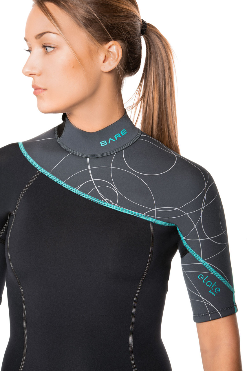 Bare 2mm Elate Shorty Scuba Diving Neoprene Wetsuit Women's