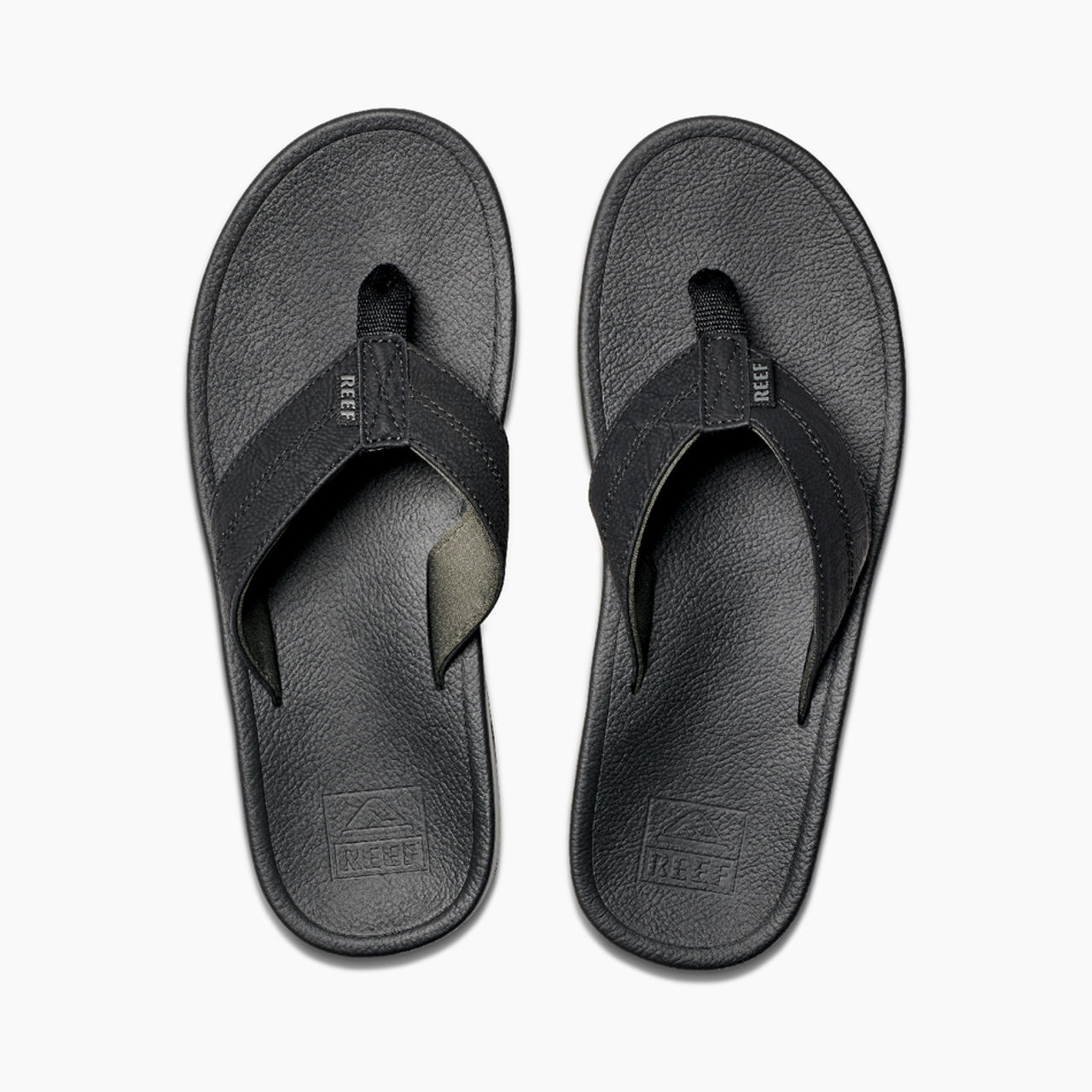 Reef Sandals - Men's Flip Flops - Journeyer - Black/Grey - RF0A39UG