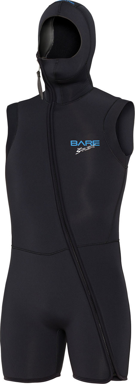 Bare Step-in Hooded Vest Men's 7mm Scuba Diving Wetsuit (USED)