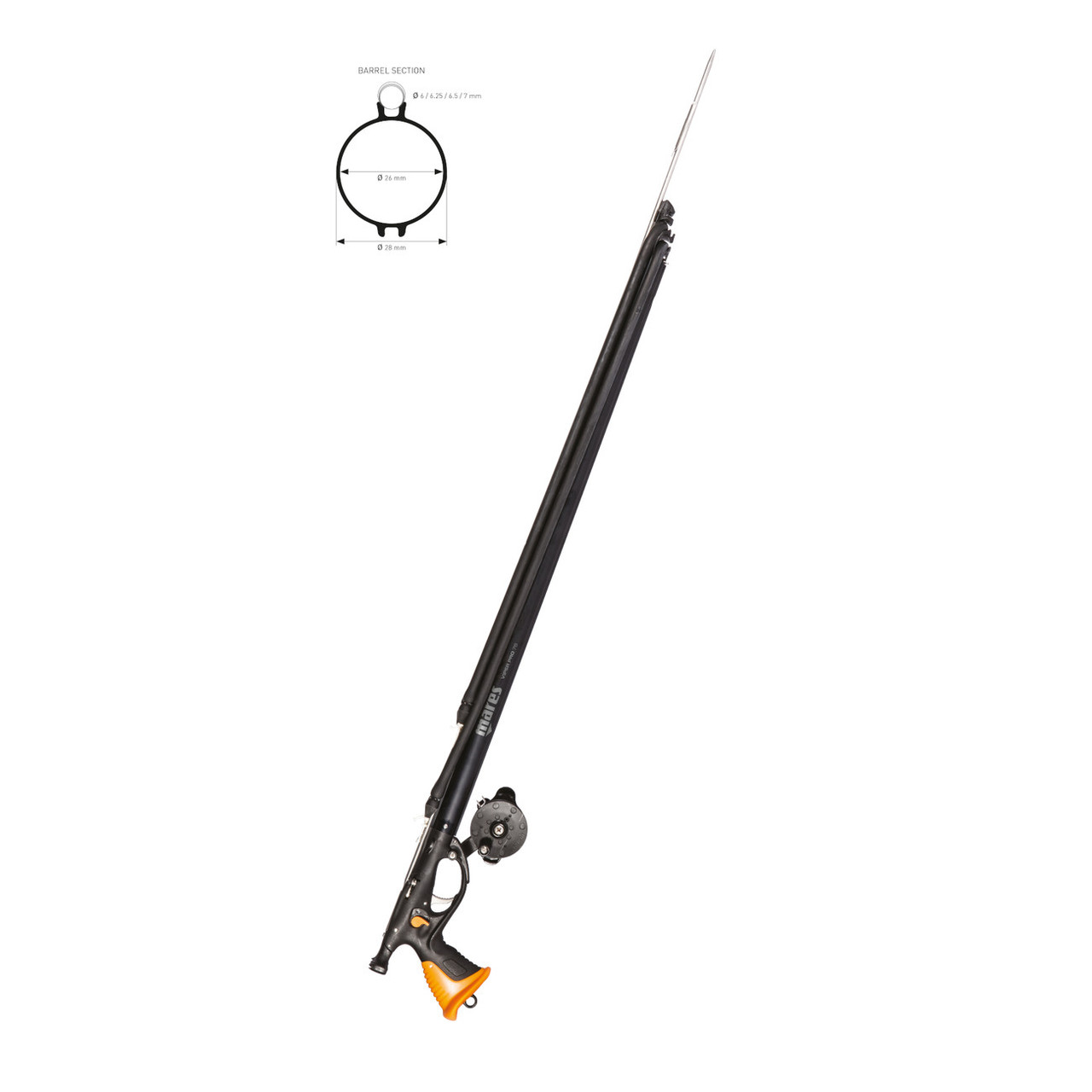 Mares Viper Pro DS w/Reel Spear Gun 90cm for Scuba Diving Spearfishing