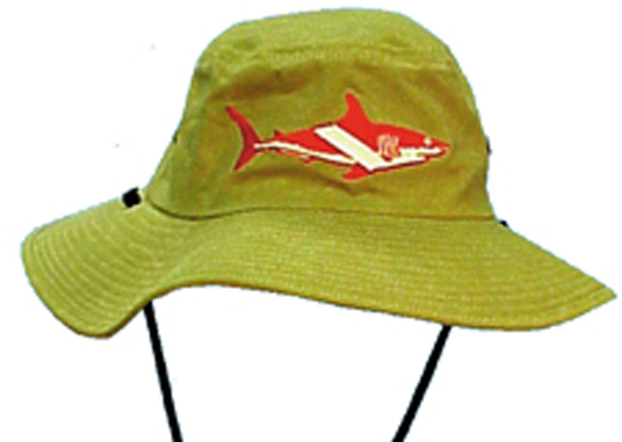 Floppy Shark Flag Diver Safari Hat Scuba Diving Dive