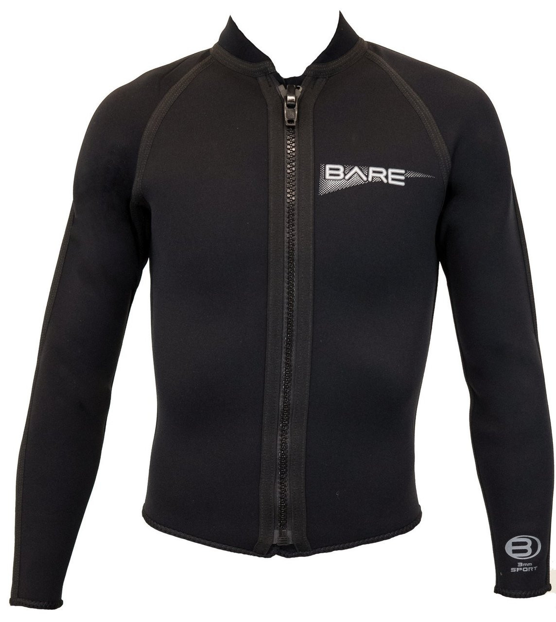 Bare 3mm Sport Front Zip Jacket Wetsuit Men's
