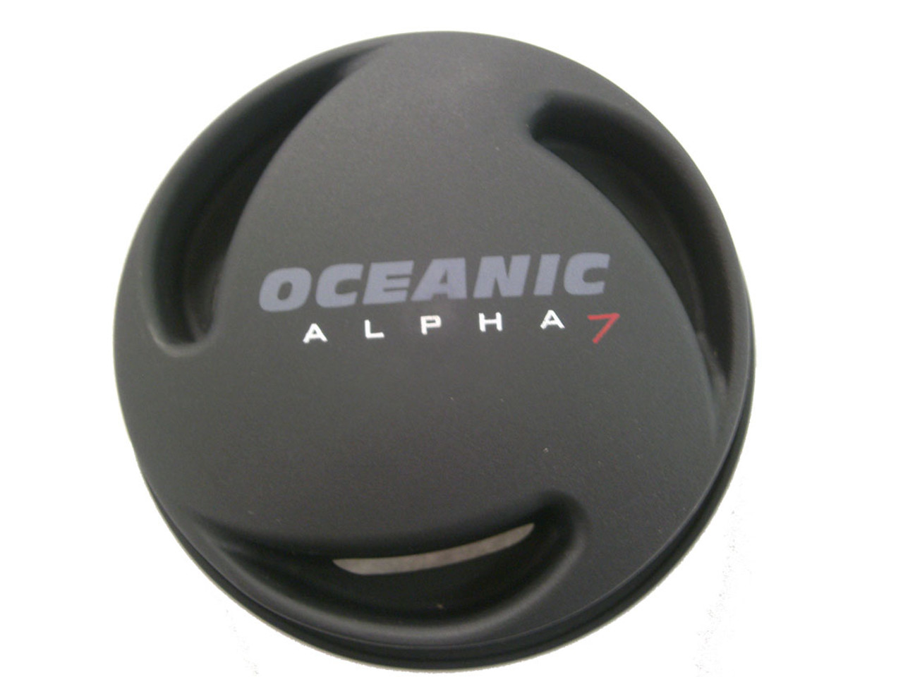Diaphragm Cover Second Stage Oceanic Alpha 6,7 Black