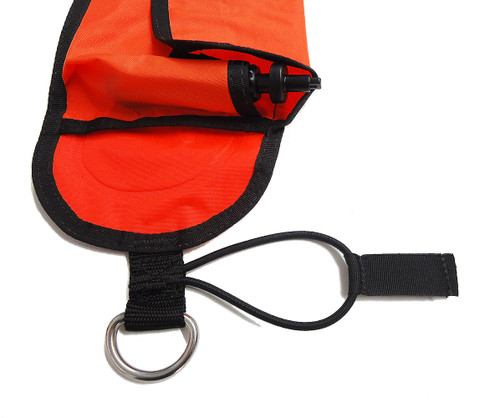 Dive Alert Surface Marker Buoy SMB Scuba Diving Dive Safety Signal Tube