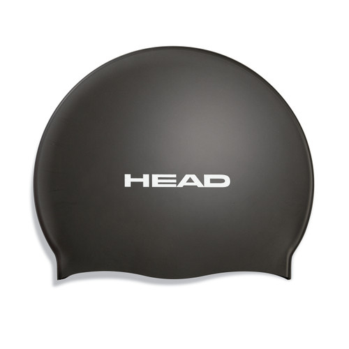 Head Silicone Flat Swim Cap Swimming Hair Cover