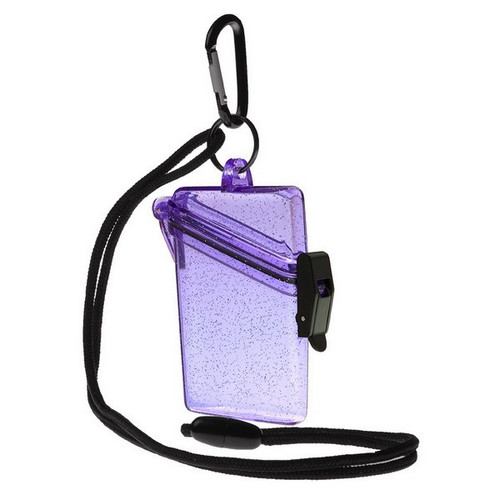 Witz Dry Box See it Safe for ID Cards, Licenses Scuba Diving Gear Glitter