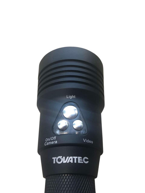 Tovatec Mera Scuba Dive 1000 Lumen Light & Built In 1080HD Underwater Camera