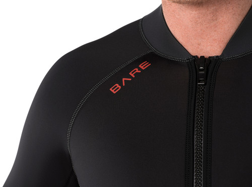 Bare Exowear Front Zip Jacket Thermal Protection Layer Men's