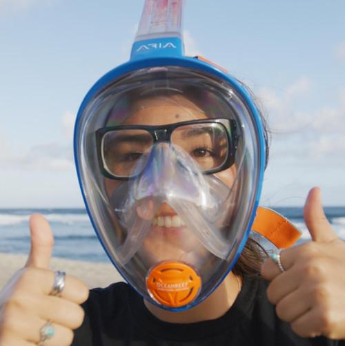 Ocean Reef Optical Lens for Aria, IDM Full Face Scuba Diving Snorkeling Masks