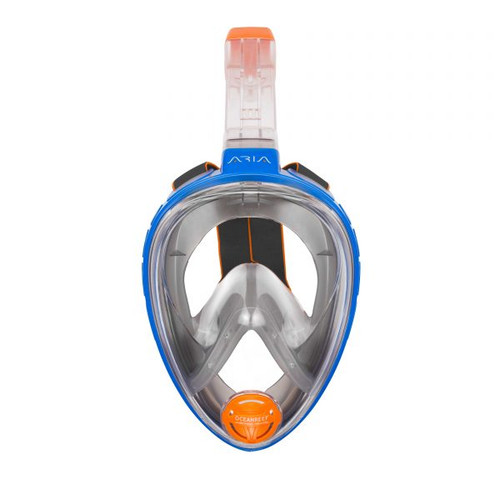 Ocean Reef Aria Classic Full Face Snorkeling Mask Anti-fog Blue