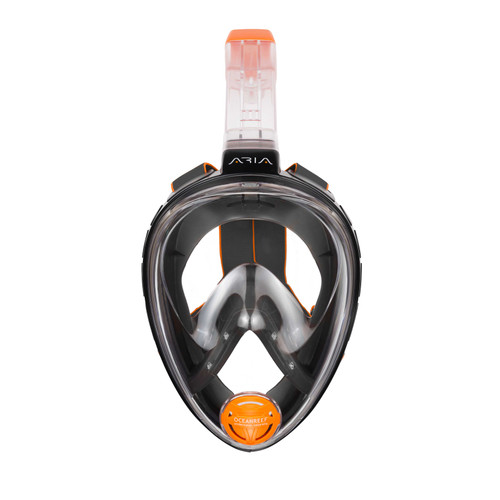 Ocean Reef Aria Classic Full Face Snorkeling Mask Anti-fog Black