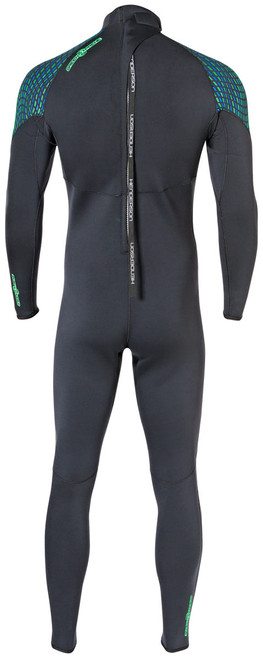 Henderson Greenprene 3mm Full Back Zip Scuba Diving Wetsuit Men's