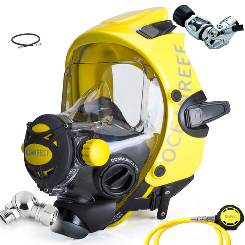 Ocean Reef Space Extender Divers Full Face Diving Mask Promo