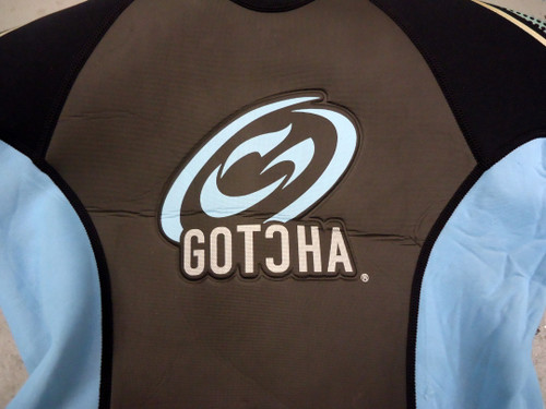 Gotcha Women's 2mm Shorty Scuba Diving Wetsuit (USED) 7/8