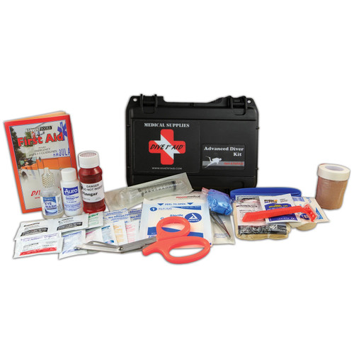 Dive 1st First Aid Advanced Scuba Diving Kit