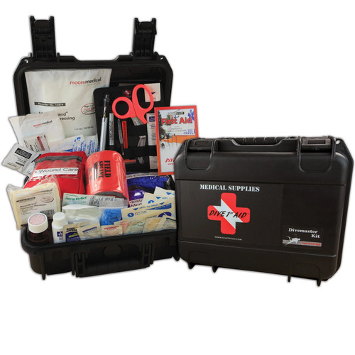 Dive 1st First Aid Divemaster Scuba Diving Kit