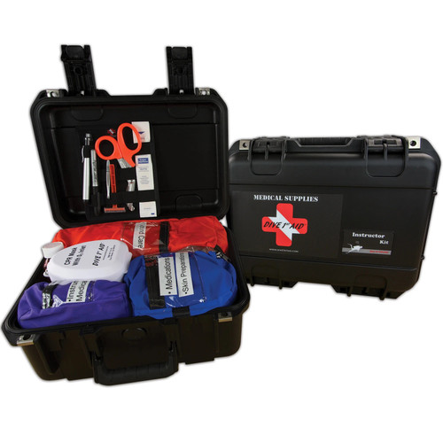 Dive 1st First Aid Instructor Scuba Diving Kit