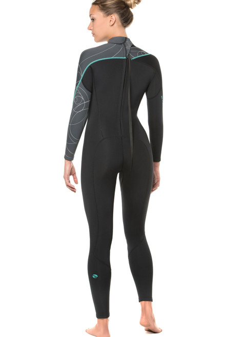 Bare 5mm Elate Full Scuba Diving Neoprene Wetsuit Women's