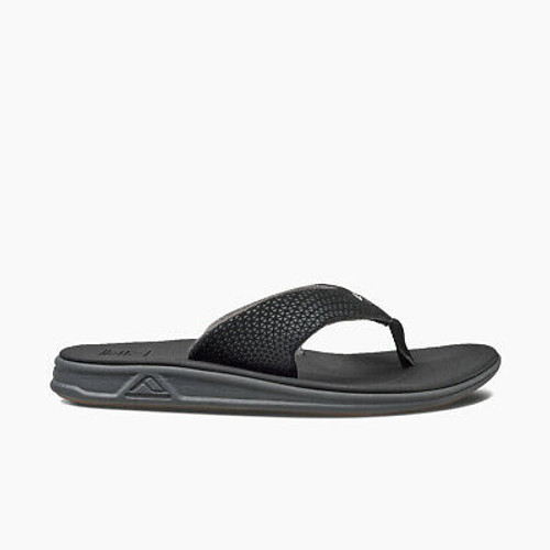 Reef Sandals - Men's Flip Flops - Rover Black - RF002295BLA - BLA
