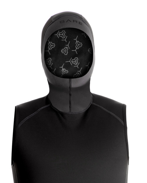 Bare Exowear Hooded Vest Thermal Protection Layer Scuba Diving
