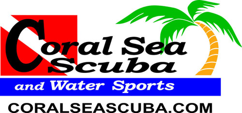 Coral Sea Scuba Logo Scuba Diving T-shirt
