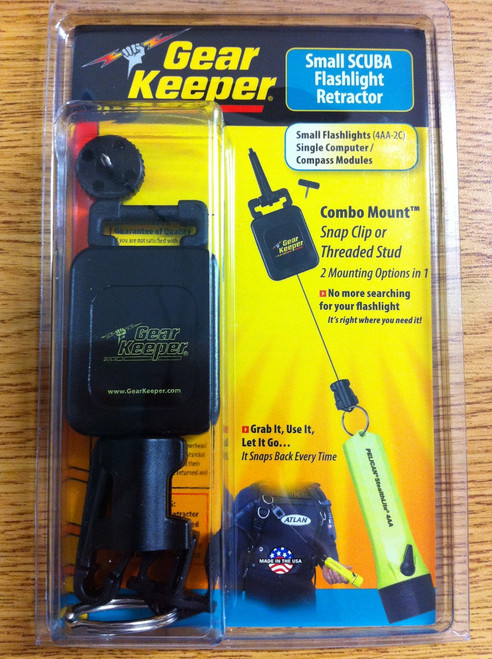 Gear Keeper Scuba Diving Mini Retractor 30 inch Light 9oz Gear Keeper R572