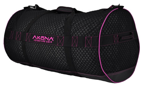 Akona Scuba Diving Stealth Mesh Duffel Bag Gear