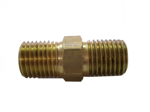 Adapter 1/4 NPT Male to Male Brass Scuba Diving Octo Hose