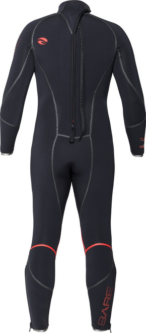 Bare 7mm Reactive Full Scuba Diving Wetsuit Men's