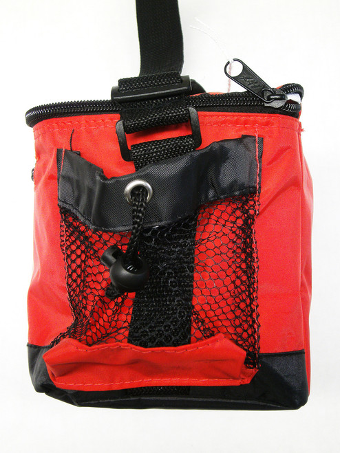 Mesh Side Pocket Adjustable Carrying Strap