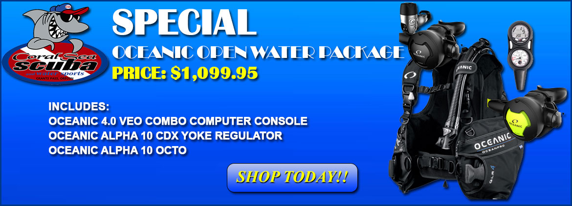 Oceanic Open Water Package Special