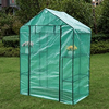 "6 Tier Steeple Green House with PE Cover,56.5""(L) x 29""(W) x 75.5""(H)"