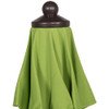 9 Ft Sunbrella® Fabric Patio Garden Outdoor Market Umbrella ,Push Button Tilt and Crank (Macaw Green)