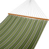 All Weather Sunbrella® Fabric Hammocks with Spread Bar and Handcrafted Polyester Rope for Two Person, Fade Resistant, 450 lbs Capacity, Foster Surfside, by Lazy Daze Hammocks