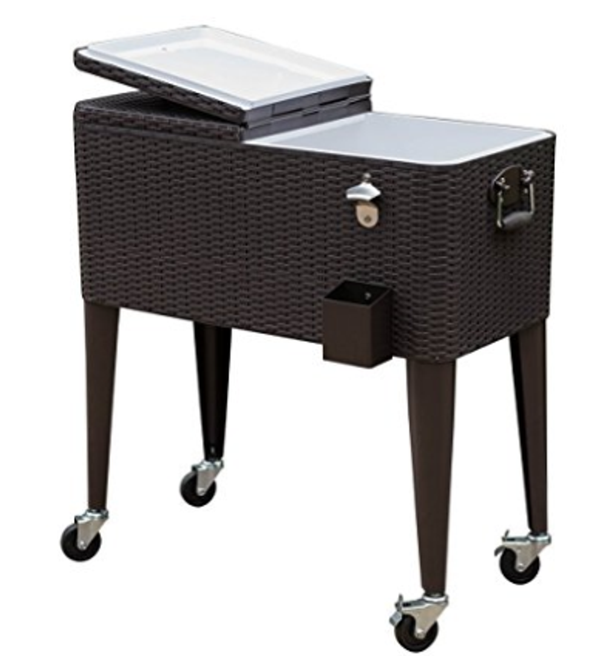 Deluxe 80 Quart Ice Chest Portable Patio Party Drink