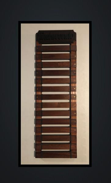 Personalised 14 Slate Belt Rack